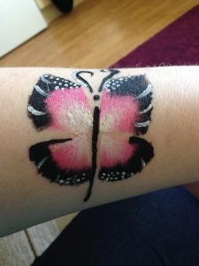 Butterfly Body Paint
