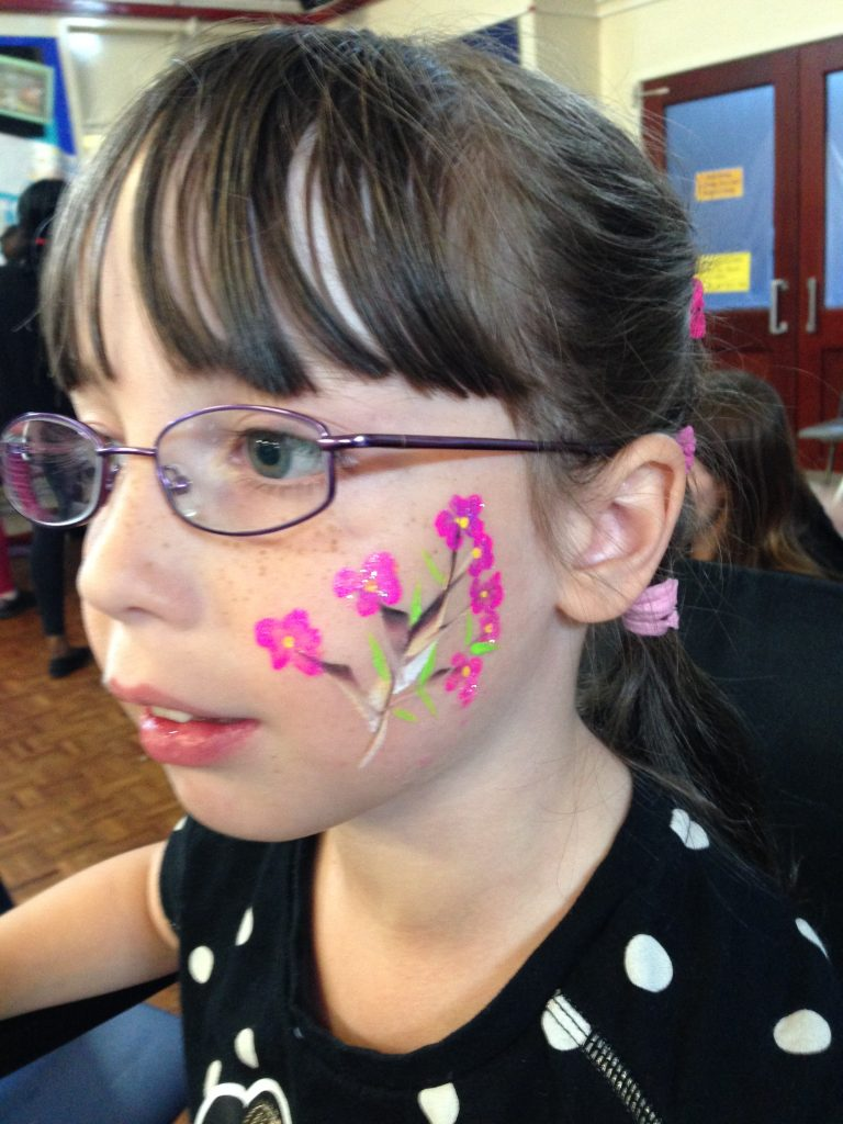 Blossom Tree Face Paint