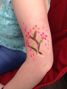 Blossom Tree Body Paint