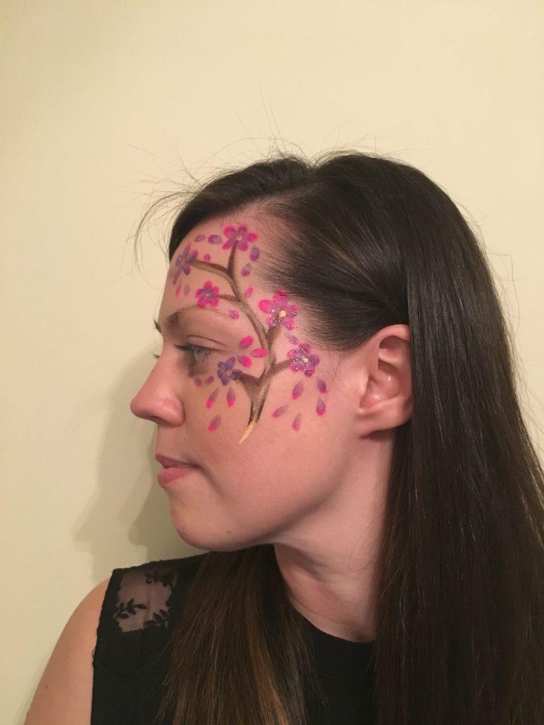Blossom Tree Face Paint