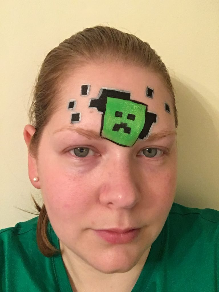 Minecraft Face Paint