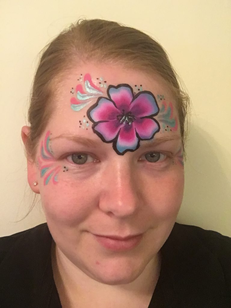 Flower Crown Face Paint