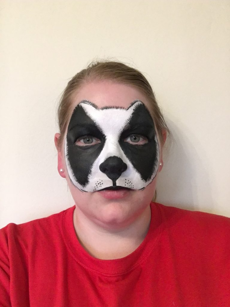 Badger Face Paint