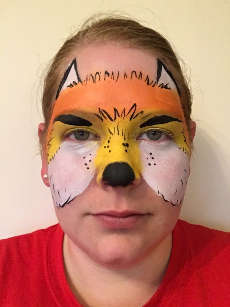 Mr Fox Face Paint