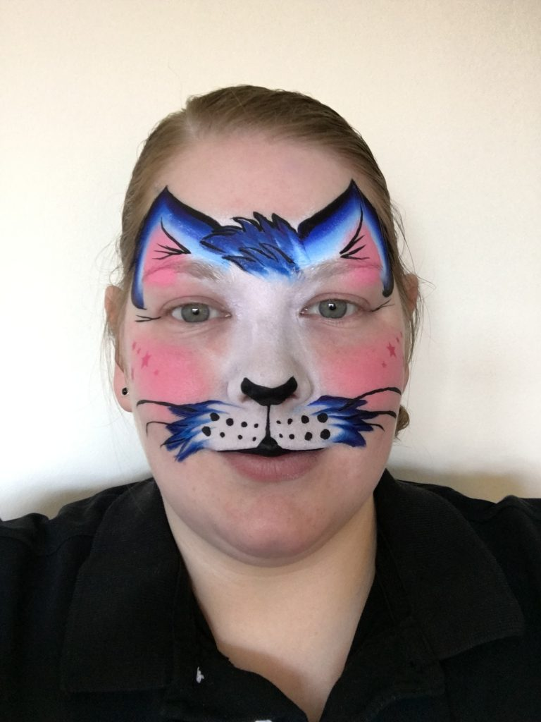 Tom Cat Face Paint