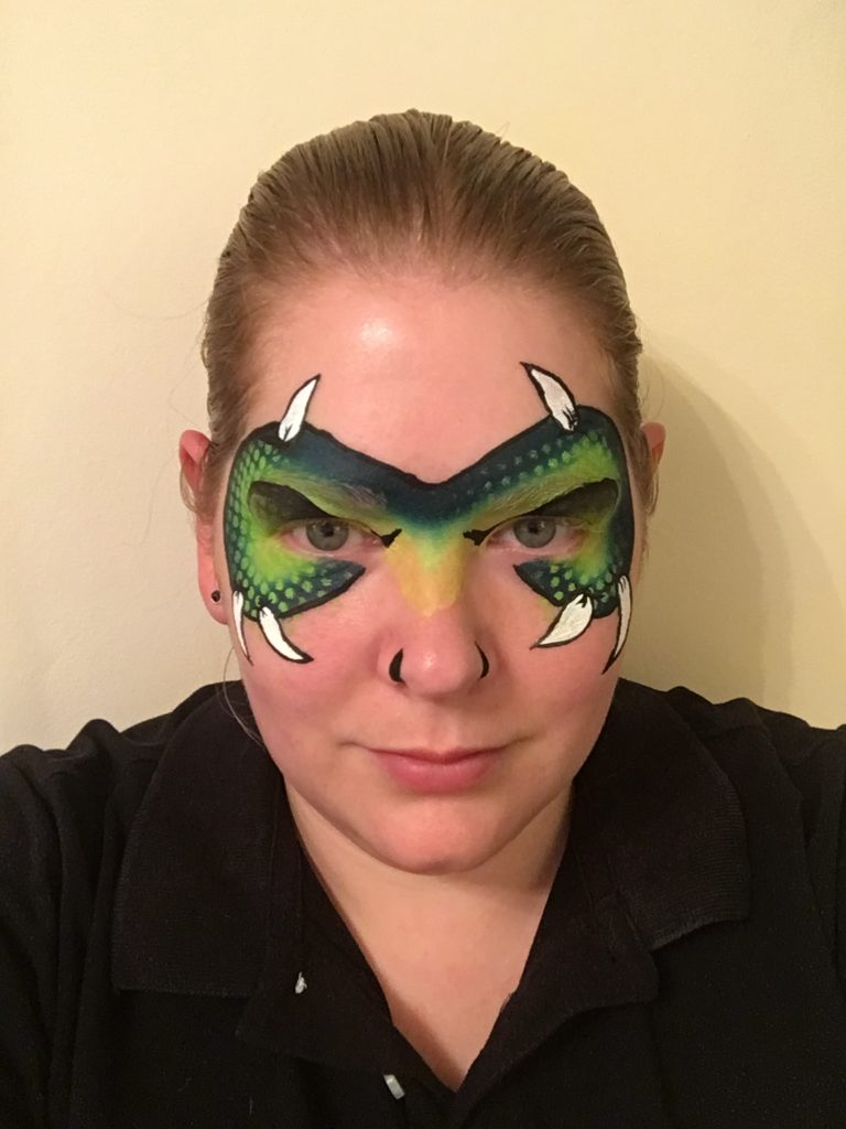 Monster Face Paint